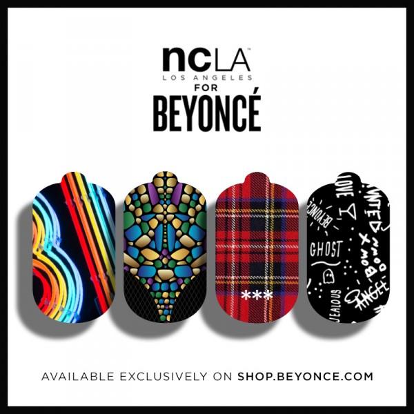 Co powiecie na naklejki na paznokcie od Beyonce? (FOTO)