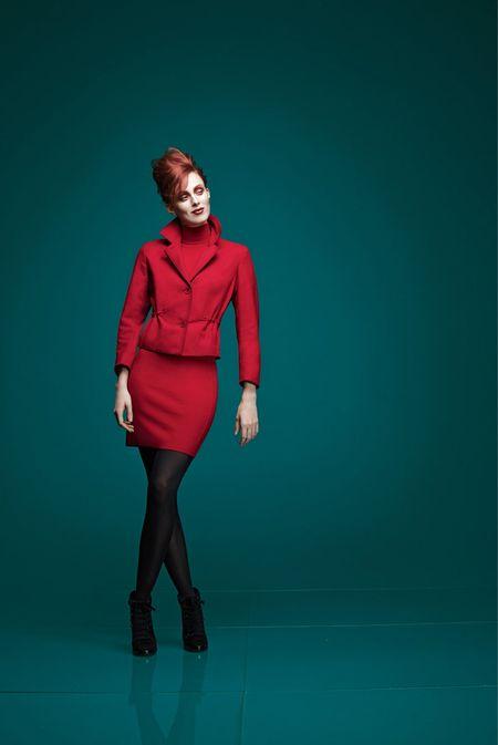Ginta Lapina w kampanii Neiman Marcus Christmas 2013