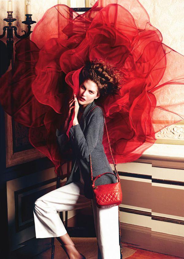 Monika Jagaciak w kampanii Neiman Marcus (FOTO)