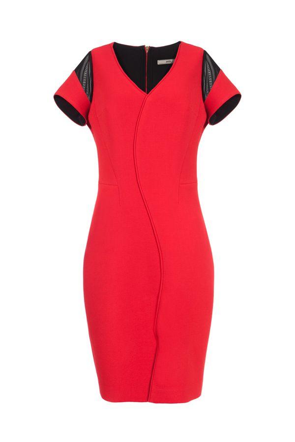 Neoprenowe sukienki na Sylwestra i studniówkę (FOTO)