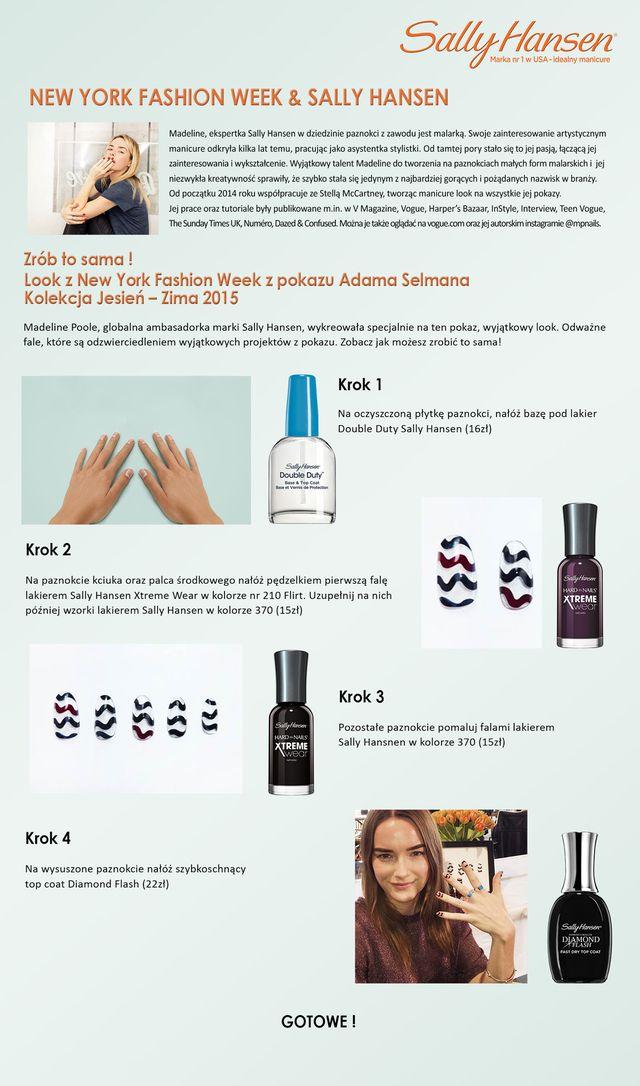 Manicure prosto z nowojorskiego tygodnia mody (FOTO)
