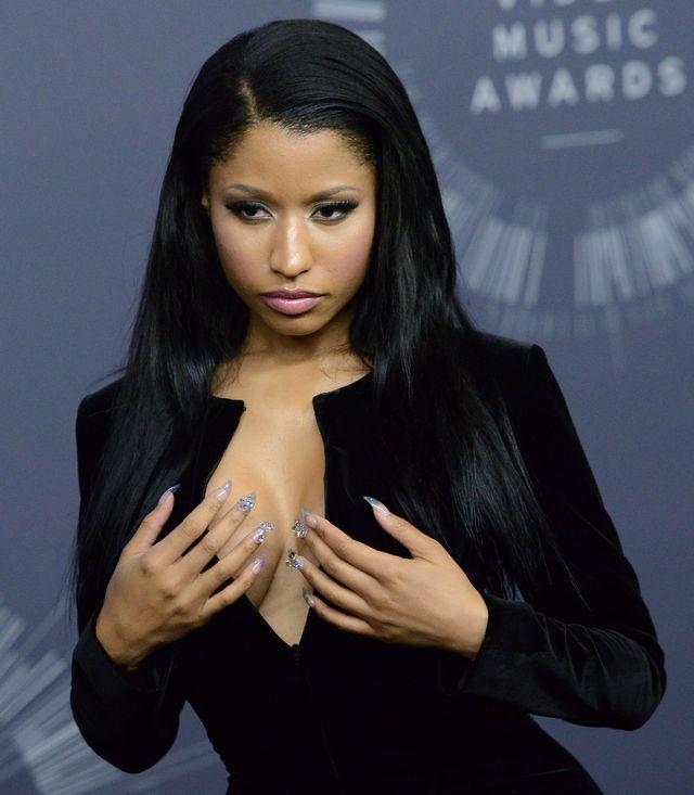 Nicki Minaj zaliczyła modowa wpadkę podcza MTV VMA 2014