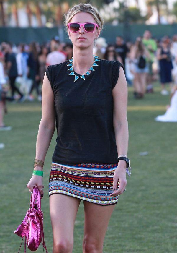 Festiwalowe stylizacje gwiazd - Coachella - dzień trzeci