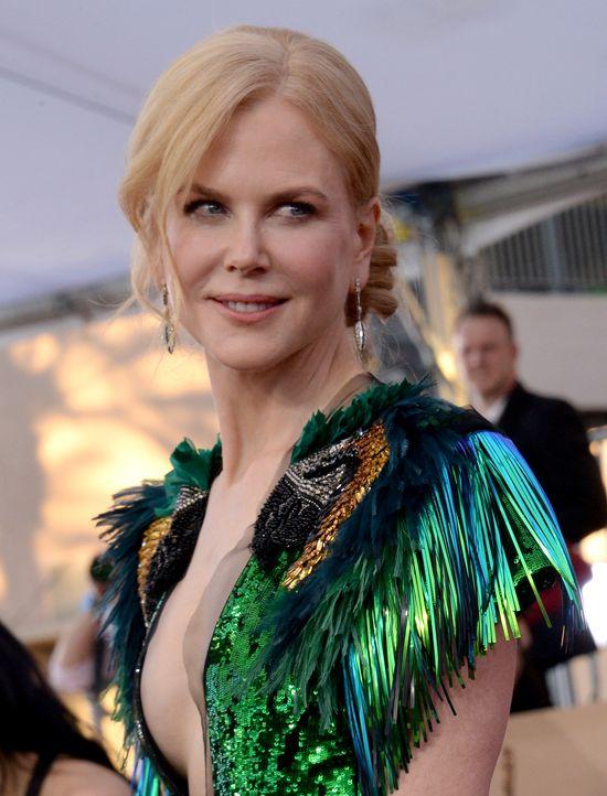 To chyba nie był dzień Nicole Kidman. Na gali SAG 2017 wypadła...