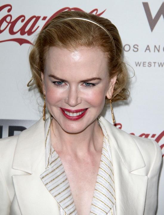 Nicole Kidman w garniturze od Oscara de la Renta