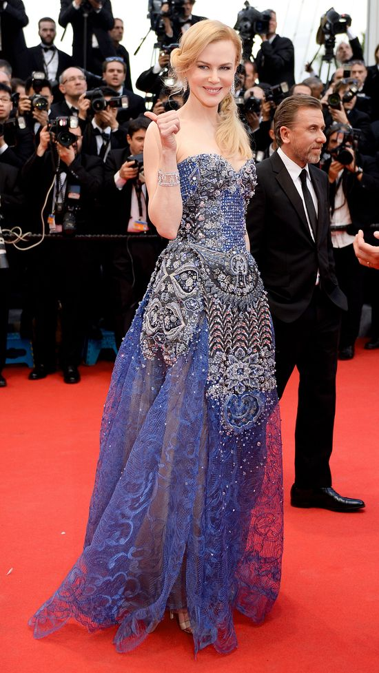 Nicole Kidman z na Festiwalu Filmowym w Cannes (FOTO)