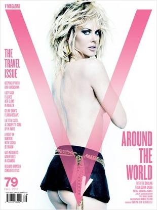 Nicole Kidman pokazała pośladki w V Magazine (FOTO)