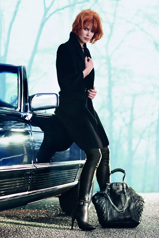 Nicole Kidman w kampanii Jimmy Choo jesień-zima 2013/14