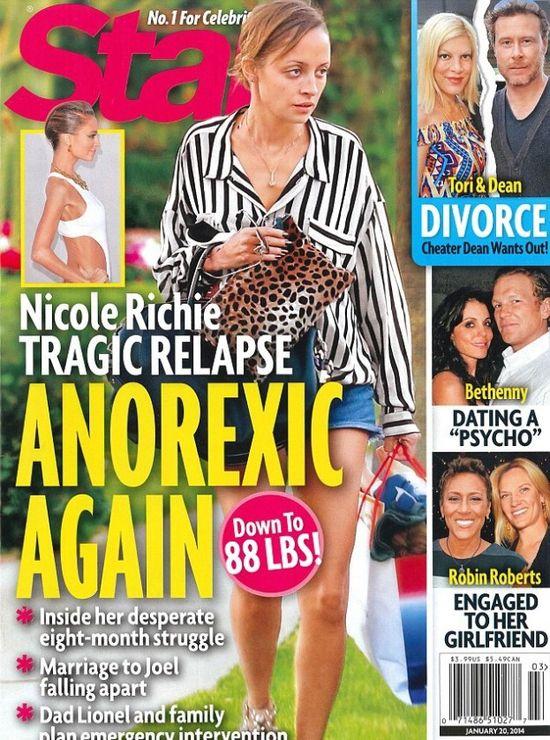 Nicole Richie wykańcza się dietą (FOTO)