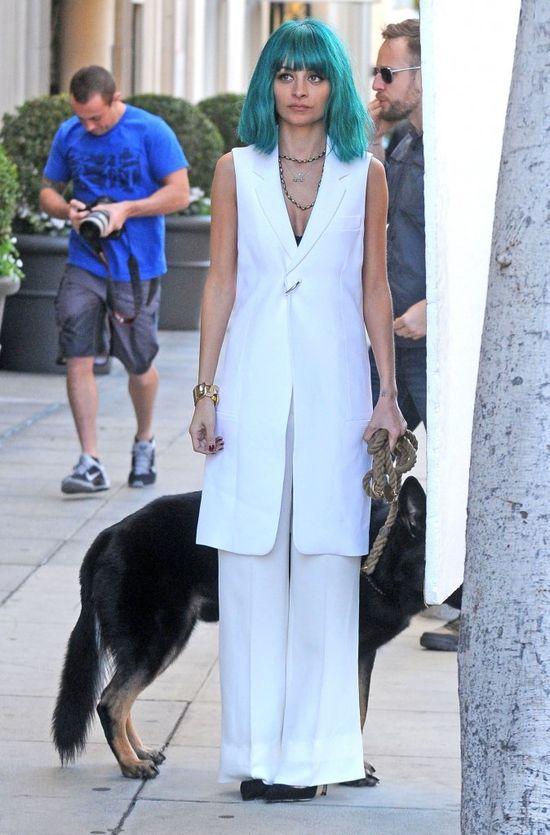 Nicole Richie znowy zaszalała z koloroem włosów?! (FOTO)