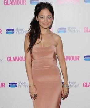 Nicole Richie na rozdaniu nagród Glamour