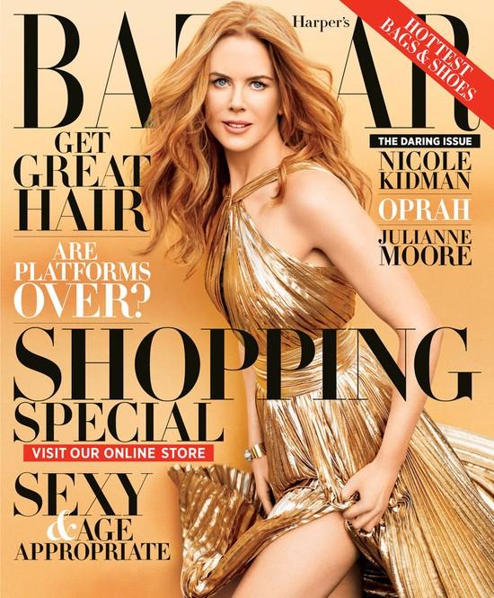 Nicole Kidman w Harper's Bazaar