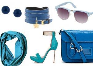 dodatki w kolorze niebieskim