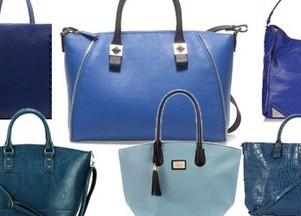 niebieskie torebki