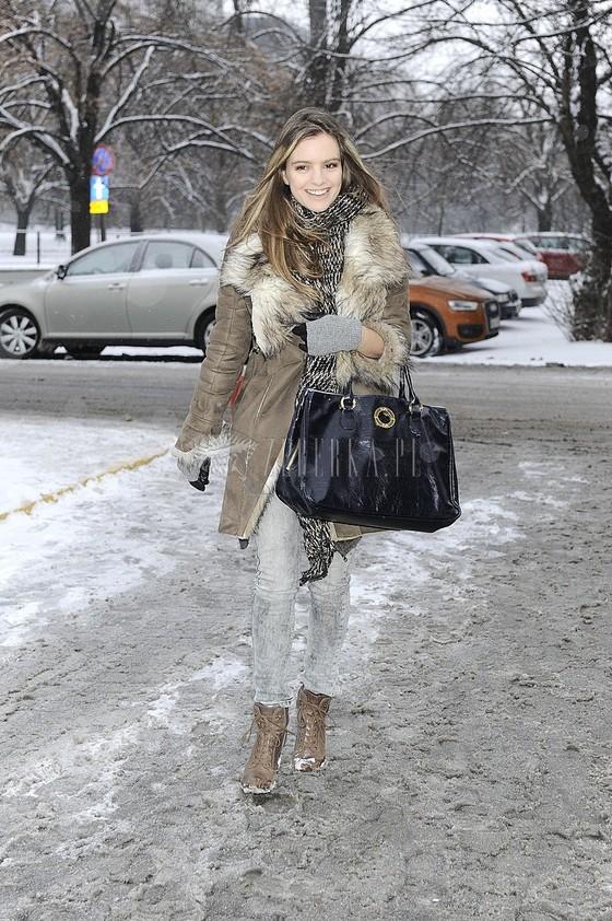 Polskie celebrytki w zimowych płaszczach