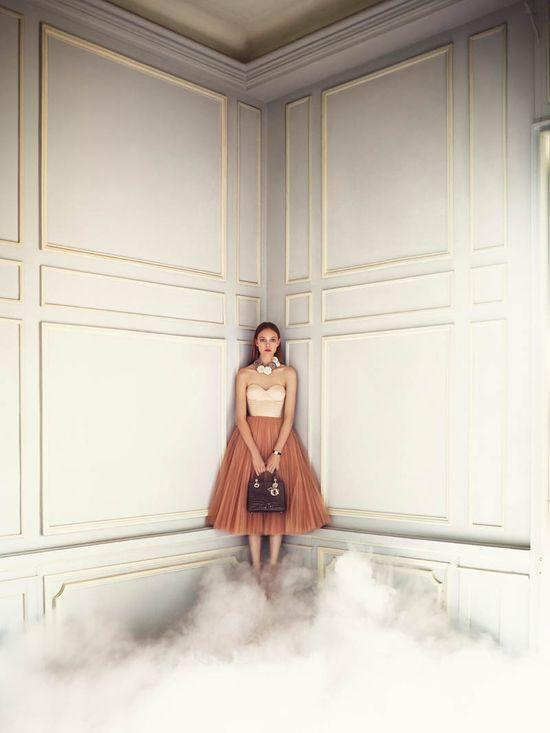 Bajkowa sesja domu mody Dior