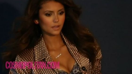 Superseksowna Nina Dobrev na okładce Cosmo (VIDEO)