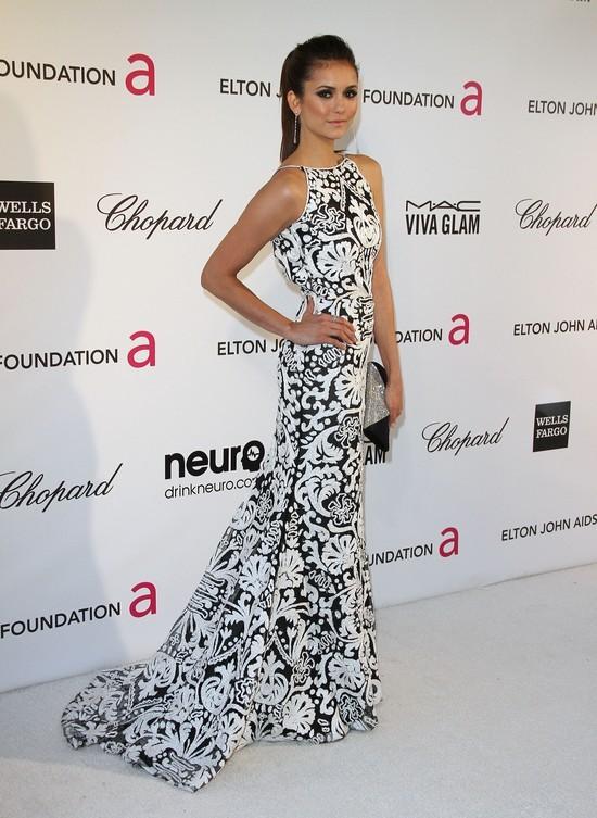 Nina Dobrev w sukni Naeem Khan (FOTO)