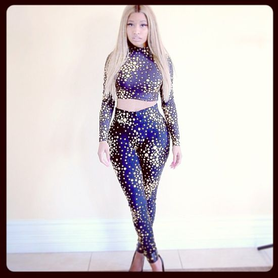 Nicki Minaj  projektuje dla Kmart (FOTO)