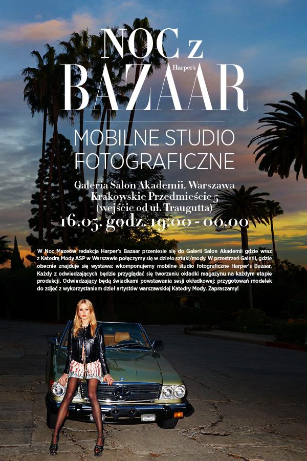 Noc z Harper's Bazaar!