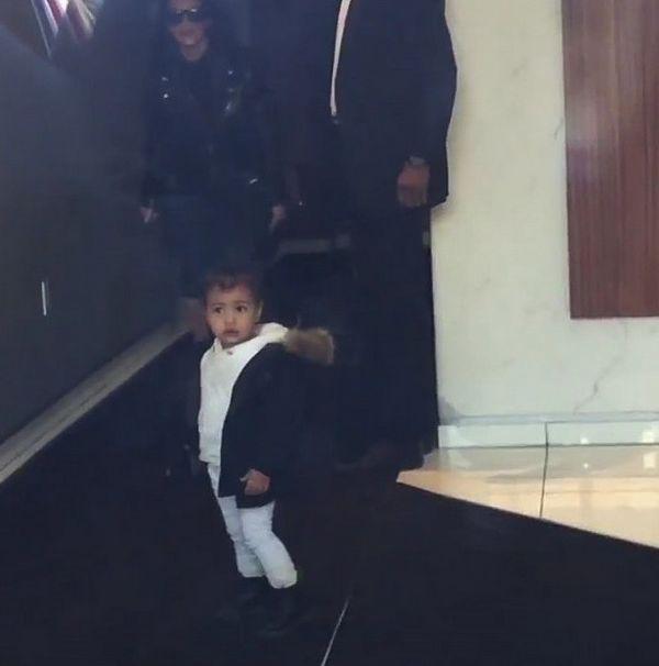 Mała Nori West już zachowuje się jak Kim Kardashian (VIDEO)