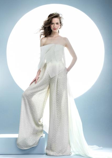 Przepiękne suknie ślubne na wiosnę 2016 - Angel Sanchez