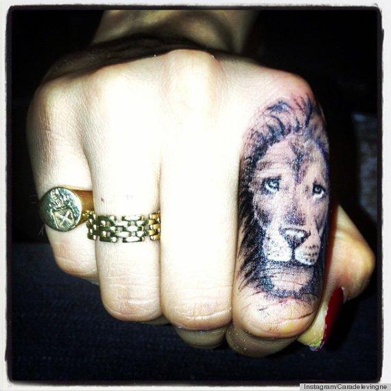 Cara Delavingne zaprezentowała światu swój pierwszy tatuaż