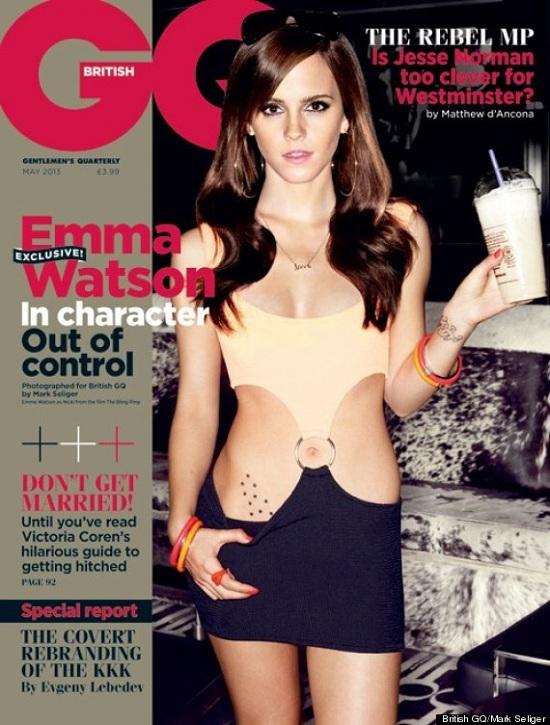 Seksowna Emma Watson na okładce magazynu GQ