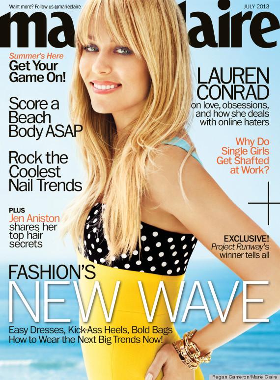 Lauren Conrad odmieniona nie do poznania