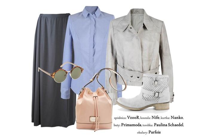 Niebieska koszula damska - 7 propozycji zestawów