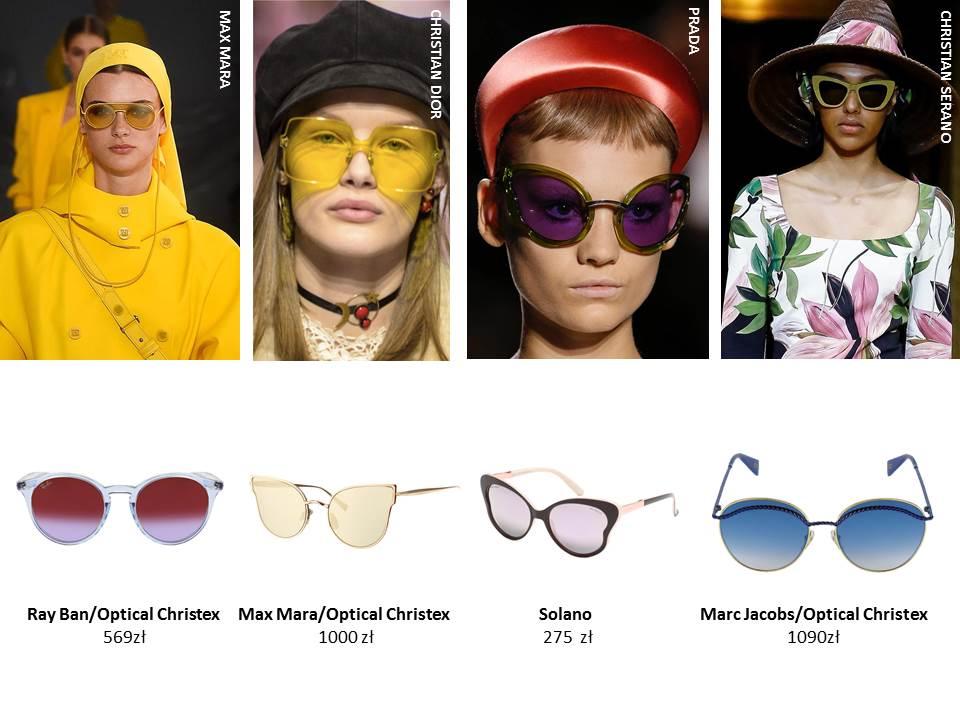 Oto okulary przeciwsłoneczne, które królowały na wybiegach. Zbyt dziwaczne?