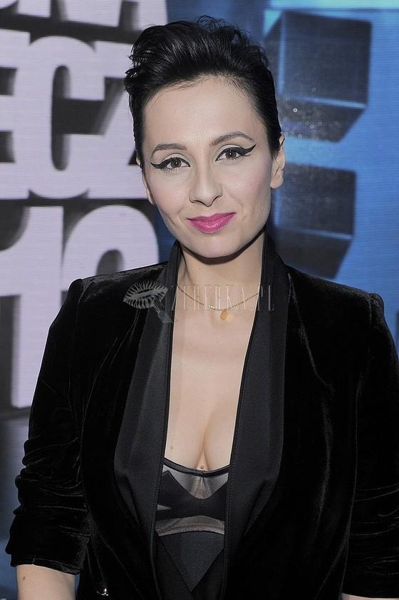 Tatiana Okupnik w seksownej stylizacji