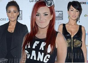 Gwiazdy w czerni na imprezie MTV