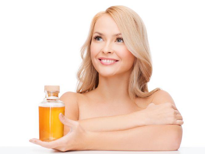 olej rycynowy na porost włosów