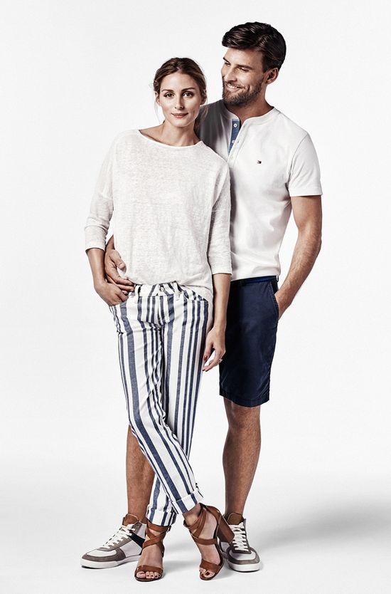 Olivia Palermo z mężem gwiazdami uTommy'ego Hillfigera
