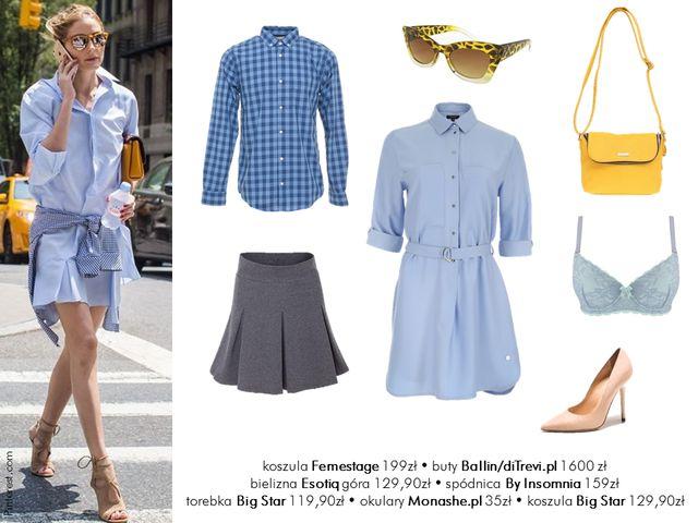 Moda na lato - Ubrania w stylu Olivii Palermo