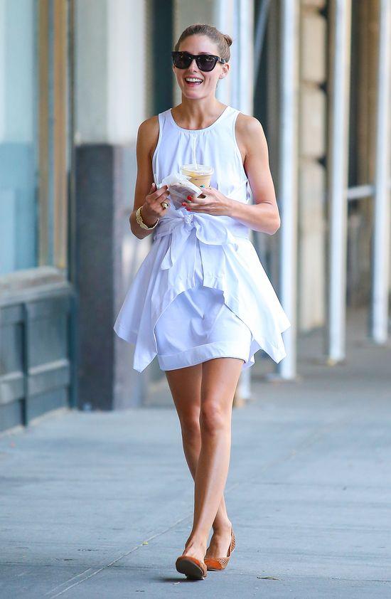 Olivia Palermo: ta sama sukienka w ciągu dnia i na premierze