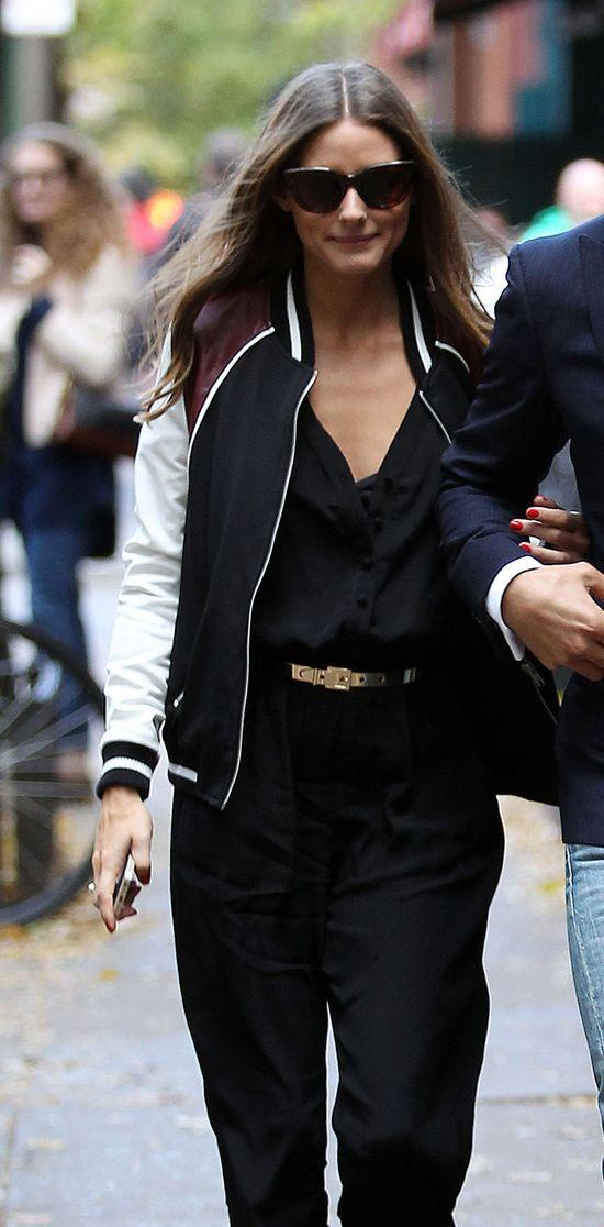 Olivia Palermo w modnej bejbolówce