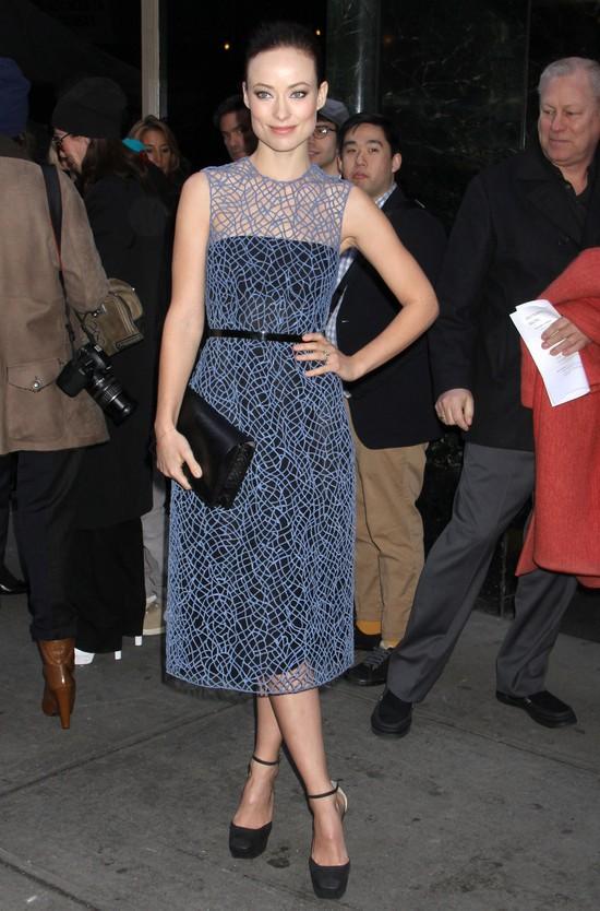 Olivia Wilde w projektach Calvina Kleina (FOTO)