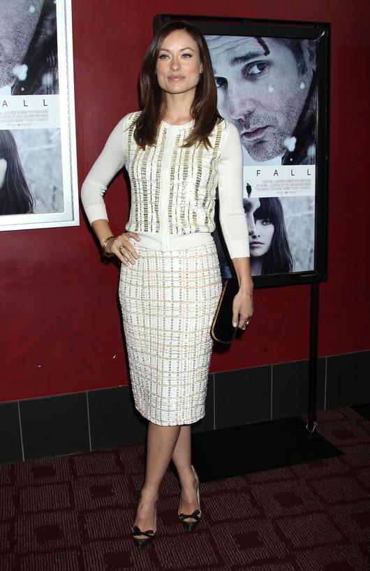 Olivia Wilde w zestawie L'Wren Scott (FOTO)