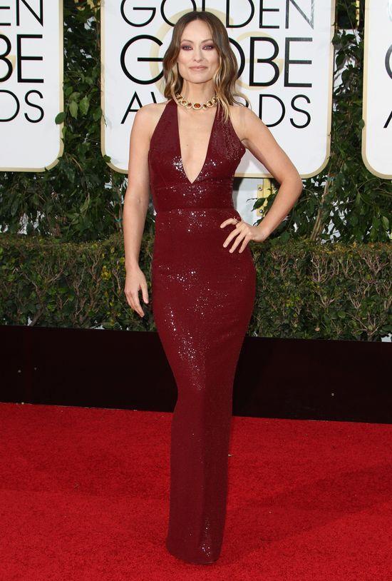 Olivia Wilde - bogini na rozdaniu Złotych Globów 2015 (FOTO)