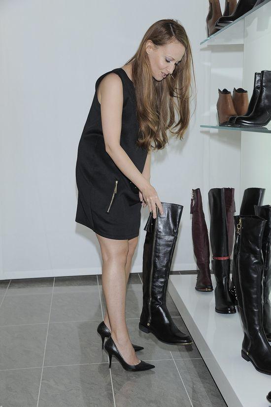 Celebrytki z Mają Sablewską na prezentacji butów Carinii