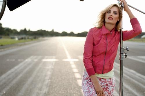 Leah de Wavrin w kampanii Olsen na sezon wiosna-lato 2013