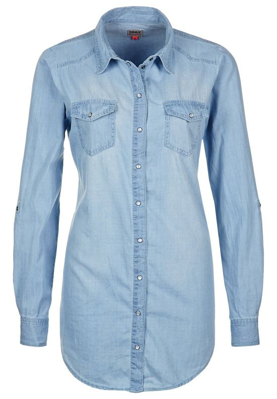 Moda na wiosnę - jeansowe koszule (FOTO)