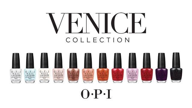 Nowa kolekcja lakierów do paznokci OPI inspirowana Wenecją