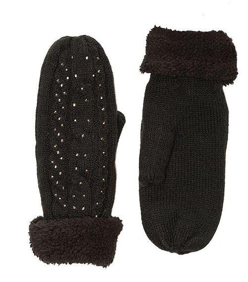 Czapki, szaliki i rękawiczki z koralikami - przegląd (FOTO)