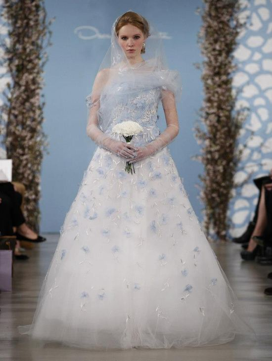 Nowa kolekcja sukien slubnych od Oscara de la Renta
