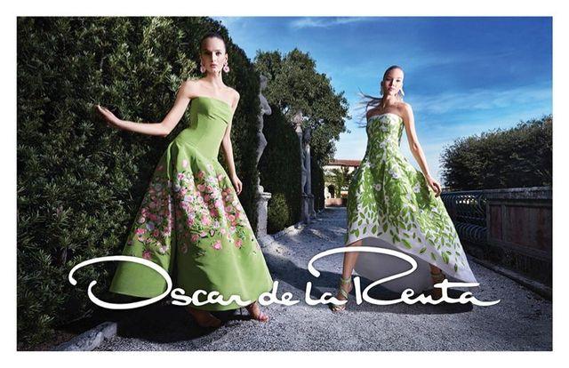 Oscar de la Renta wiosna/lato 2015 - Kolekcja ZACHWYCA!