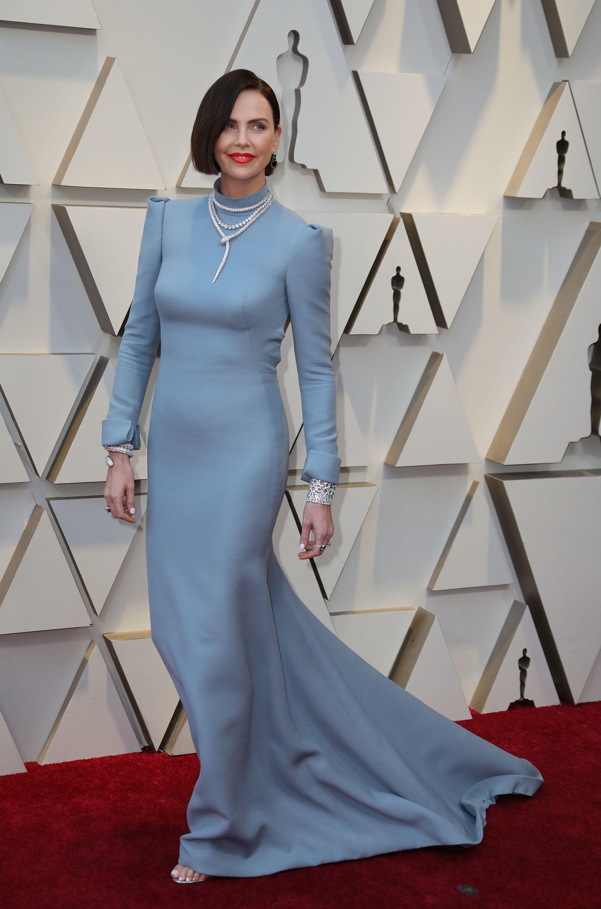 Charlize Theron na Oscarach postawiła na ryzykowny krok. Spójrzcie na jej włosy!
