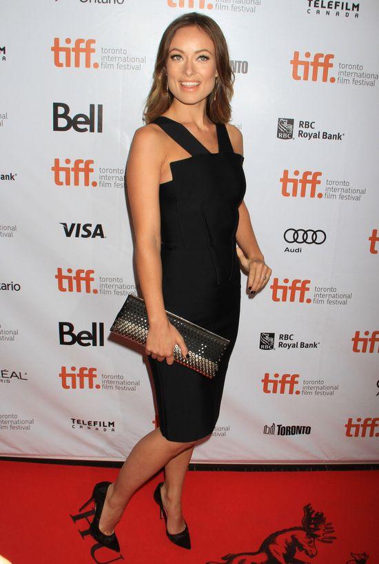 Olivia Wilde w sukience Roland Mouret (FOTO)